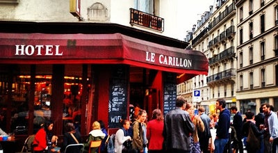 Photo of Bar Le Carillon at 18 Rue Alibert, Paris 75010, France