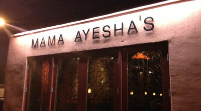 Photo of Middle Eastern Restaurant Mama Ayesha Restaurant at 1967 Calvert St Nw, Washington, DC 20009, United States