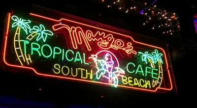 Photo of American Restaurant Mango's Tropical Cafe at 900 Ocean Dr, Miami Beach, FL 33139, United States