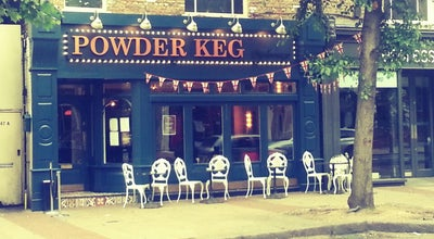 Photo of English Restaurant Powder Keg Diplomacy at 147 St. John's Hill, London SW11 1TQ, United Kingdom