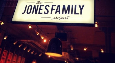 Photo of Modern European Restaurant The Jones Family Project at 78 Great Eastern Street, London EC2A 3JL, United Kingdom