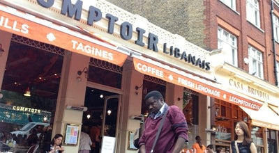 Photo of Middle Eastern Restaurant Comptoir Libanais at 1-5 Exhibition Road, London SW7 2HE, United Kingdom