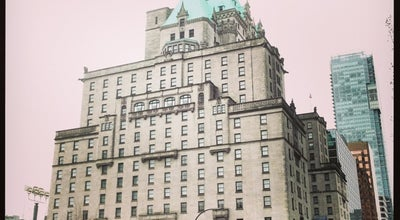 Photo of Hotel Fairmont Hotel Vancouver at 900 West Georgia Street, Vancouver, BC V6C 2W6, Canada