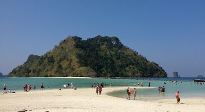 Photo of Beach ทะเลแหวก (Thale Waek/Separated Sea) at Tup Island, Mueang Krabi 81000, Thailand