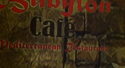 Photo of Middle Eastern Restaurant Babylon Cafe at 7724 Maple St, New Orleans, LA 70118, United States