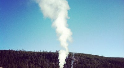 Photo of Tourist Attraction Old Faithful at Center Loop Road, Yellowstone National Park, WY 82190, United States