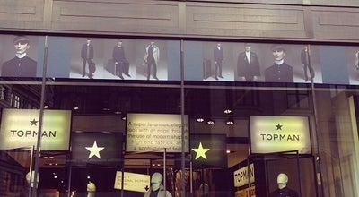 Photo of Men's Store Topman at 214-216 Oxford St, London W1W 8LG, United Kingdom