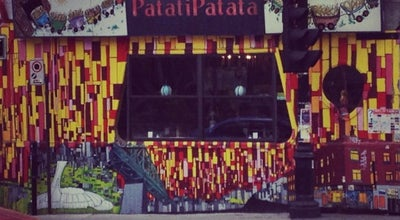 Photo of Fast Food Restaurant Patati Patata friterie de luxe at 4177 St Laurent, Montreal H2W 1Y7, Canada