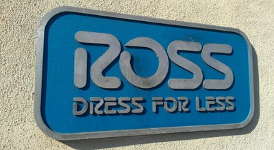 Photo of Clothing Store Ross Dress for Less at 8380 Rio San Diego Dr., San Diego, CA 92108, United States