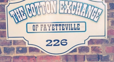 Photo of Tourist Attraction The Cotton Exchange Livery at 226 Donaldson St, Fayetteville, NC 28301, United States