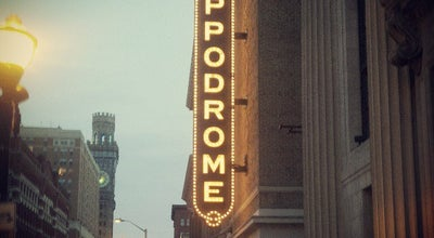 Photo of Theater Hippodrome Theatre at 12 North Eutaw Street, Baltimore, MD 21201, United States