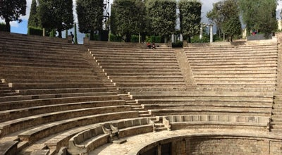 Photo of Performing Arts Venue Teatre Grec at Passeig De Santa Madrona, 36, Barcelona 08038, Spain