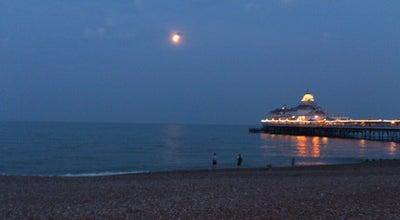 Photo of Beach Eastbourne Seafront at Grand Parade, Eastbourne, United Kingdom