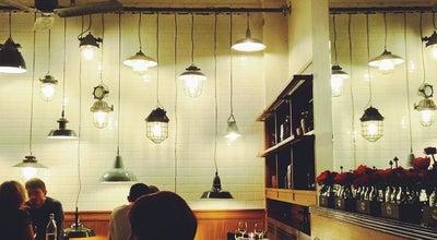 Photo of English Restaurant The Corner Room at Town Hall Hotel, London E2 9NF, United Kingdom