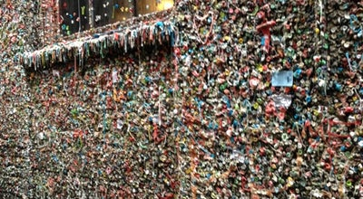 Photo of Monument / Landmark The Gum Wall at 1428 Post Alley, Seattle, WA 98101, United States