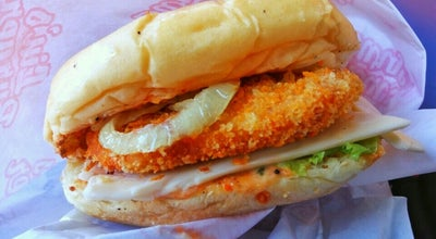 Photo of Burger Joint Lin's Burger Sri Ratu at Indonesia