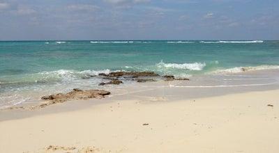 Photo of Beach Sandyport Beach at West Bay Street, Nassau, Bahamas
