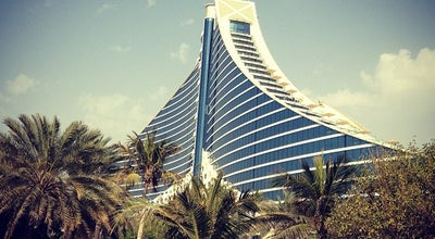 Photo of Hotel Jumeirah Beach Hotel at Jumeirah Beach Road, Dubai 11416, United Arab Emirates
