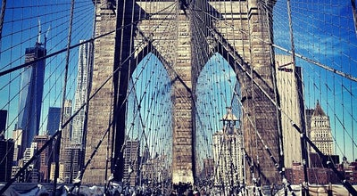 Photo of Trail Brooklyn Bridge Promenade at Brooklyn Bridge, Brooklyn, NY 11201, United States