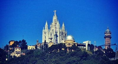 Photo of Church Temple Expiatori del Sagrat Cor at Tibidabo, Barcelona 08035, Spain