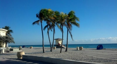 Photo of Beach Hollywood Beach Boardwalk at N Broadwalk, Hollywood, FL 33019, United States
