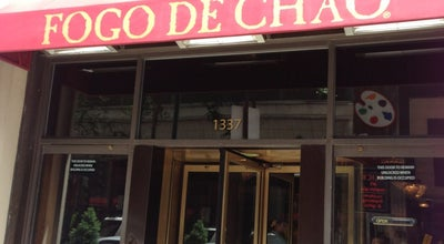 Photo of Restaurant Fogo de Chao Brazilian Steakhouse at 1337 Chestnut Street, Philadelphia, PA 19107, United States