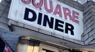 Photo of American Restaurant Square Diner at 33 Leonard St, New York, NY 10013, United States