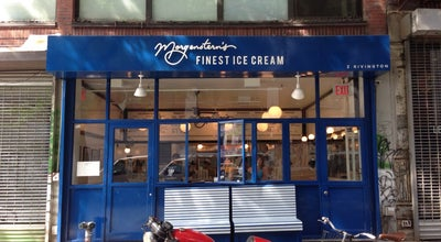 Photo of Restaurant Morgenstern's Finest Ice Cream at 2 Rivington St, New York, NY 10002, United States