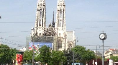Photo of Historic Site Votivkirche at Rooseveltplatz, Vienna 1090, Austria