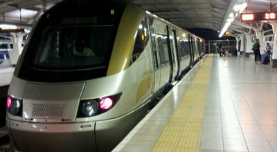 Photo of Train Station Gautrain OR Tambo International Airport Station at Or Tambo International Airport (jnb), Kempton Park 1627, South Africa