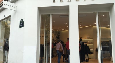 Photo of Boutique Sandro at 50 Rue Vieille Du Temple, Paris 75004, France
