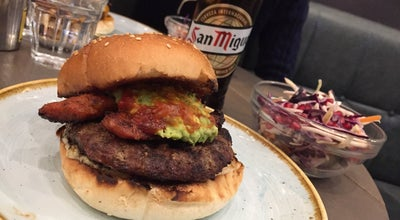 Photo of Burger Joint Gourmet Burger Kitchen at 150 Above Bar St, Southampton SO14 7DU, United Kingdom