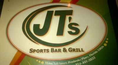 Photo of Bar JT's Sports Bar & Grill at 10466 Taft St, Pembroke Pines, FL 33026, United States
