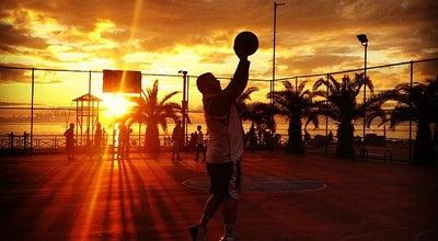 Photo of Basketball Court Damlataş Basketbol Sahası at Kleopatra Cad., Alanya, Turkey