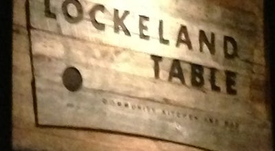 Photo of American Restaurant Lockeland Table at 1520 Woodland St, Nashville, TN 37206, United States