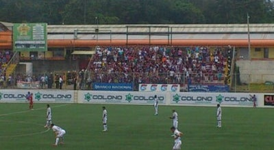 Photo of Soccer Stadium Estadio Ebal Rodríguez at Guápiles, Costa Rica