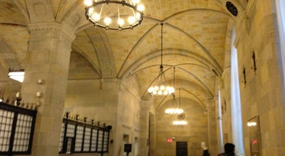 Photo of Bank Federal Reserve Bank of New York at 33 Liberty St, New York, NY 10045, United States