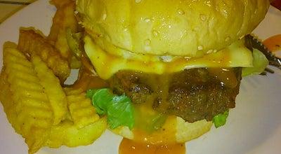 Photo of Burger Joint EE Burger Trimula Cafe at Persiaran Mutiara, Kuah 07000, Malaysia