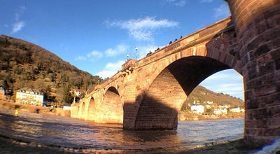 Photo of Bridge Alte Brücke at Karl-theodor-brücke, Heidelberg 69120, Germany