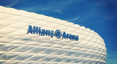 Photo of Soccer Stadium Allianz Arena at Werner-heisenberg-allee 25, München 80939, Germany