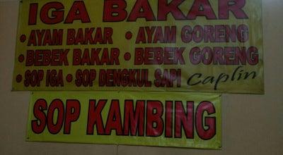 Photo of BBQ Joint Iga Bakar & Bebek Bakar Caplin at Jl. Hos Cokroaminoto, Indonesia