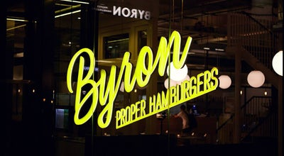 Photo of Burger Joint Byron at 26 Bedford St, Exeter EX1 1GJ, United Kingdom