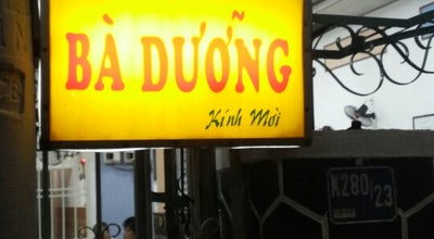 Photo of Asian Restaurant Banh xeo Ba Duong at K280/23 Hoang Dieu, Da Nang, Vietnam