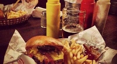 Photo of American Restaurant Flippin' Burgers at 8 Observatoriegatan, Stockholm 113 29, Sweden