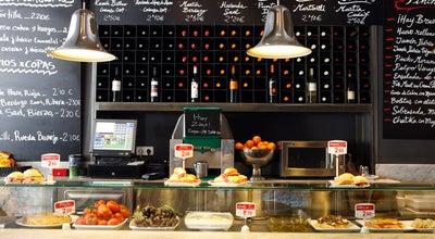 Photo of Tapas Restaurant Mercado de la Reina at C. Gran Vía, 12, Madrid 28013, Spain
