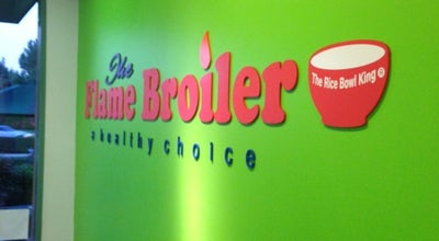 Photo of Restaurant Flame Broiler at 17595 Harvard Ave, Irvine, CA 92614, United States