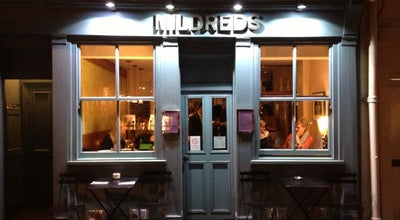 Photo of English Restaurant Mildreds at 45 Lexington Street, London W1F 9AN, United Kingdom