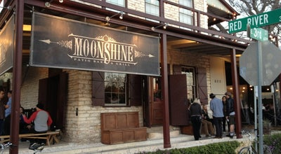 Photo of American Restaurant Moonshine Patio Bar & Grill at 303 Red River St, Austin, TX 78701, United States