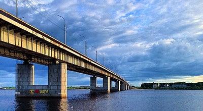 Photo of Water Park мост через двину at Russia