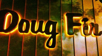 Photo of American Restaurant Doug Fir at 830 E Burnside St, Portland, OR 97214, United States